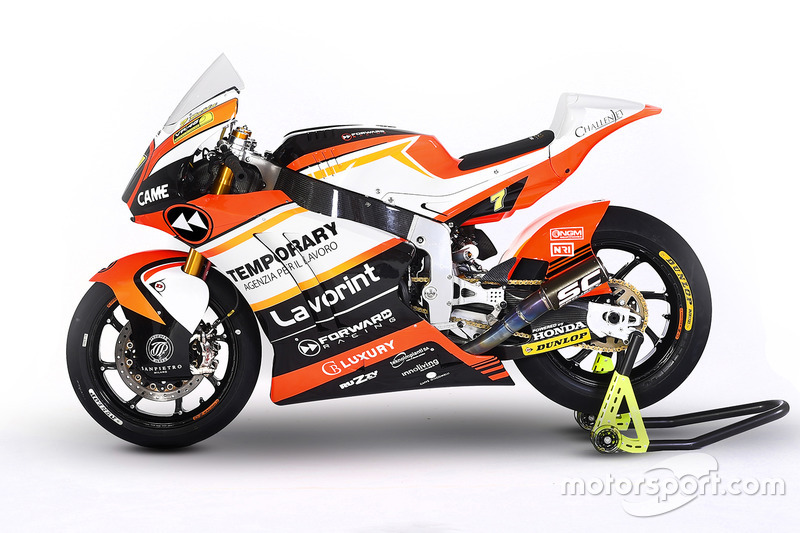 Moto de Lorenzo Baldassarri, Forward Racing