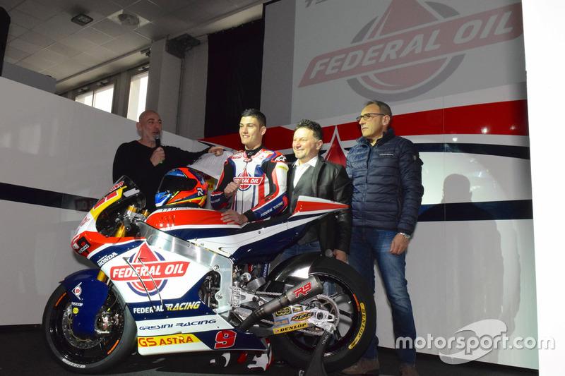 Fausto Gresini, Team Manager Federal Oil Gresini Moto2 y Jorge Navarro, Federal Oil Gresini Moto2