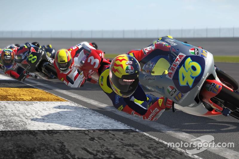 Valentino Rossi memimpin rombongan