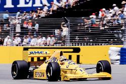 Nelson Piquet, Lotus 101 Judd