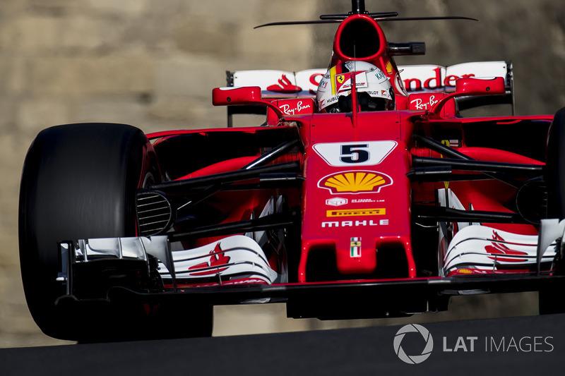1º Sebastian Vettel, Ferrari SF70H (153 puntos)