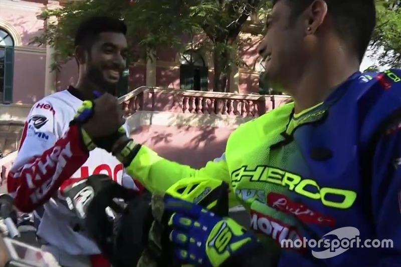 CS Santosh y Aravind KP