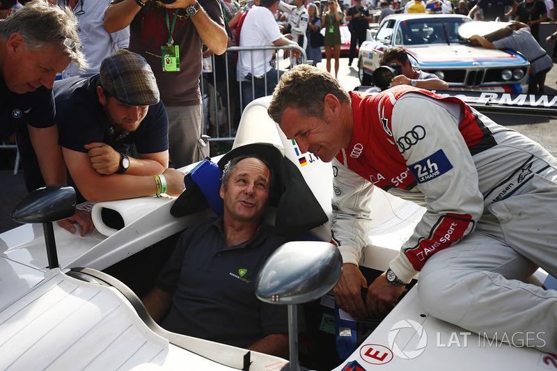 Герхард Бергер и Том Кристенсен, BMW V12 LMR 1999 года