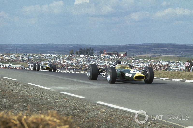 11º Graham Hill, Lotus 49, Watkins Glen 1967. Tiempo: 1:05.480