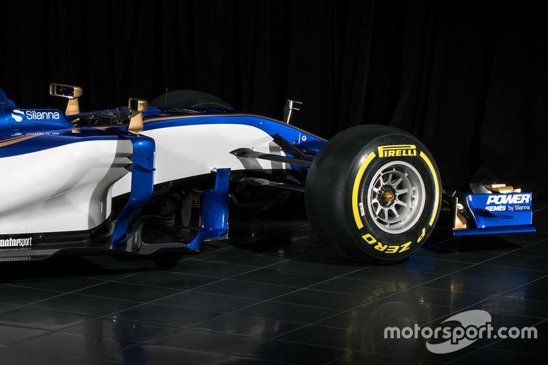 Sauber C36: Frontpartie