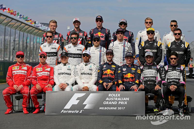 Fahrergruppenfoto