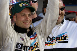 Race winner Dave Steele