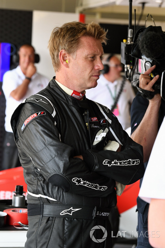 Simon Lazenby, Sky TV F1 Experiences 2-Seater passenger