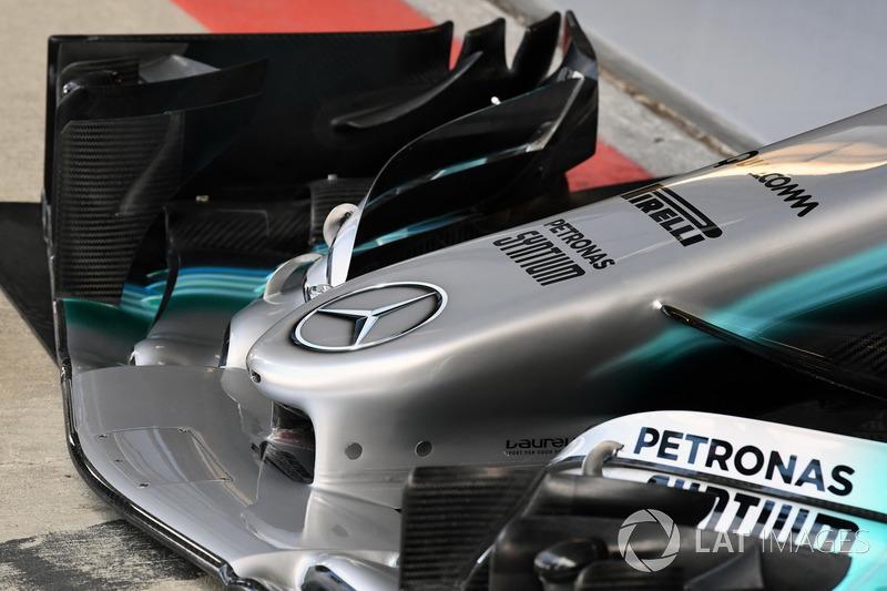 Передн антикрило Mercedes-Benz F1 W08