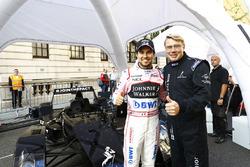 Sergio Perez, Force India, Mika Hakkinen