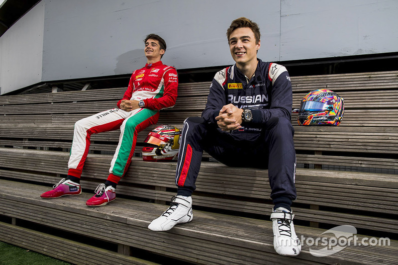 Charles Leclerc, PREMA Powerteam, Antonio Fuoco, PREMA Powerteam