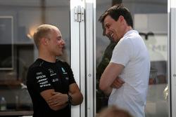 Валттері Боттас, Mercedes AMG F1, керівник  Mercedes AMG F1 Тото Вольфф