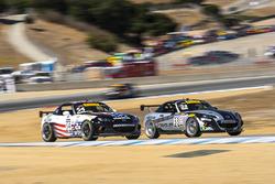 #33 Doghouse Performance Mazda MX-5: Adam Poland, #54 Atlanta Motorsports Mazda MX-5: Patrick Gallagher