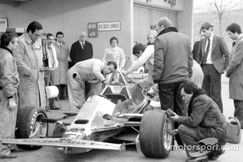1982: тесты во Фьорано, Ferrari 126C2