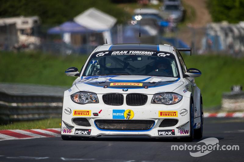 #47 TC-R & Vetter Motorsport, BMW E82: Hans-Martin Gass, Heiko Hahn, Roland Konrad, Kristian Vetter