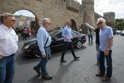 Charlie Whiting a Baku per valutare il tracciato