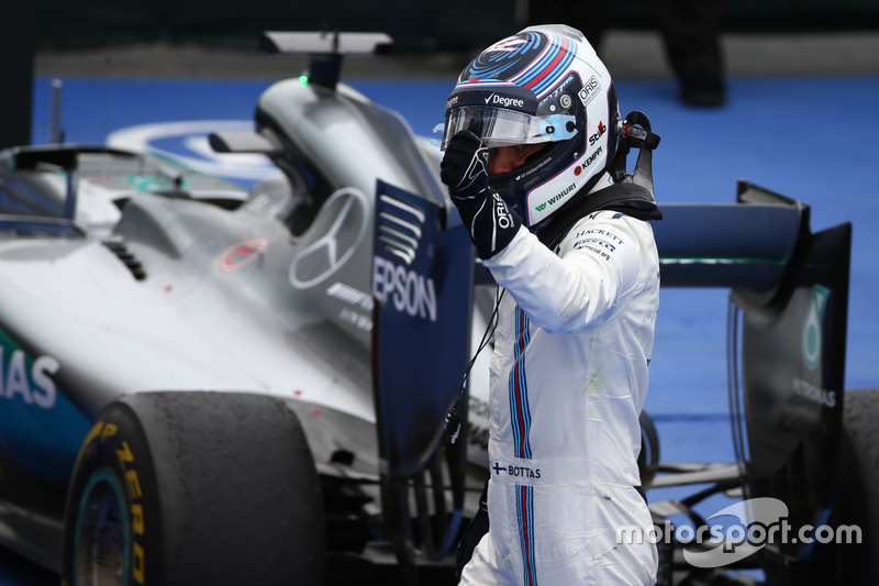 Tercer lugar Valtteri Bottas, Williams Martini Racing FW38