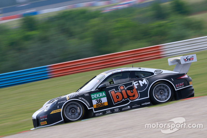 #36 bigFM Racing Team Schütz Motorsport, Porsche 911 GT3 R: Marvin Dienst, Christopher Zanella