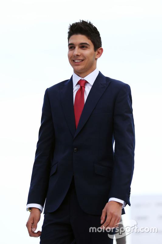 Esteban Ocon, Renault Sport F1 Team piloto de prueba en el Amber Lounge Fashion Show