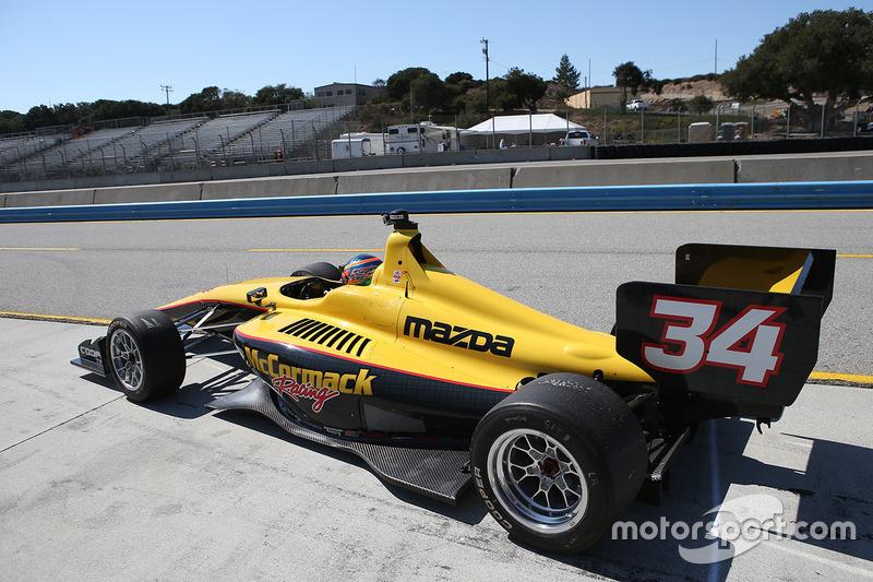 Davey Hamilton Jr., McCormack Racing