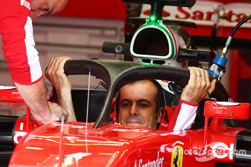 Ferrari SF16-H ve Halo