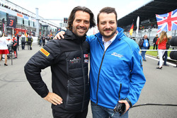 Stéphane Ratel CEO and Founder Of SRO Motorsport Group with Marc Hennerici, Event Promoter