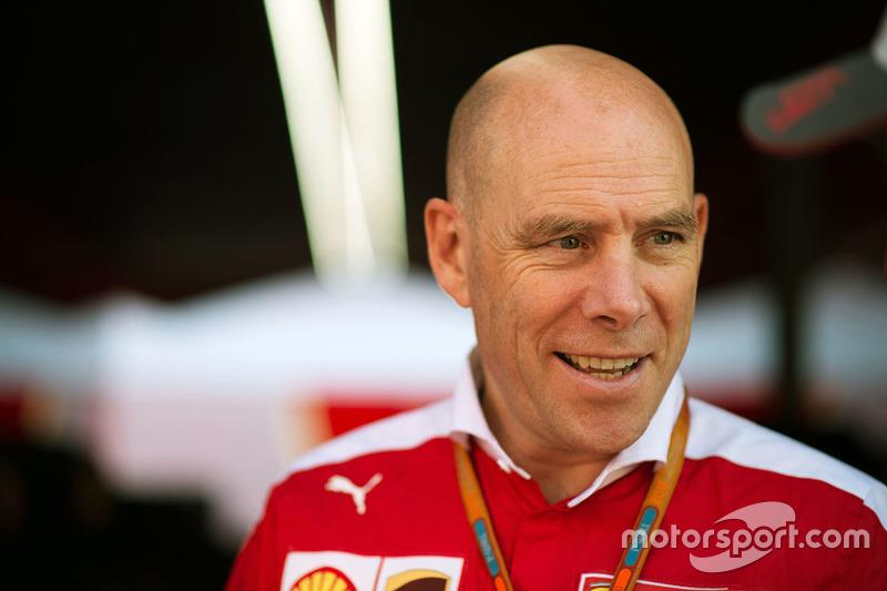 Jock Clear, Ferrari Engineering Director