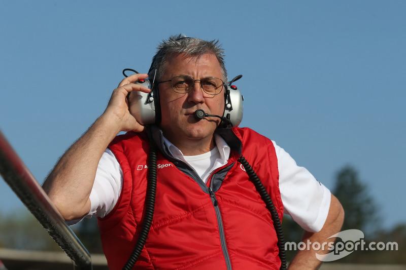 Ernst Moser, Team Principal Audi Team Phoenix