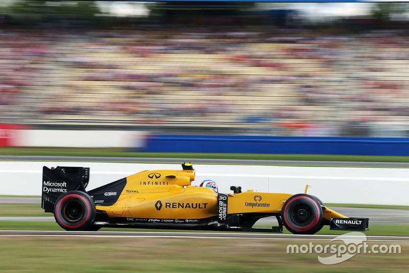 14: Jolyon Palmer, Renault Sport F1 Team RS16