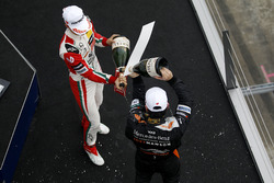 Rookie Podium: Mick Schumacher, Prema Powerteam, Dallara F317 - Mercedes-Benz, Joey Mawson, Van Amersfoort Racing, Dallara F317 - Mercedes-Benz