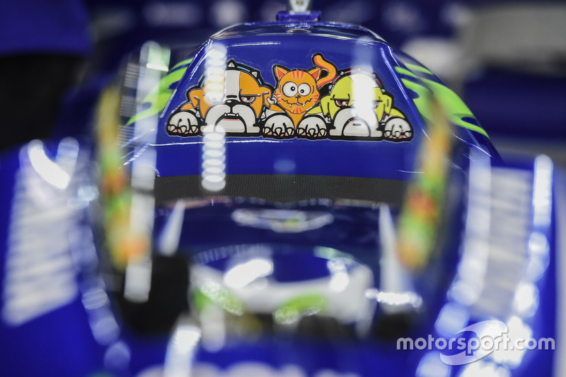 Detail: Bike von Valentino Rossi, Yamaha Factory Racing