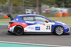 Thellung-Verrocchio, BF Racing,Seat Leon-TCR