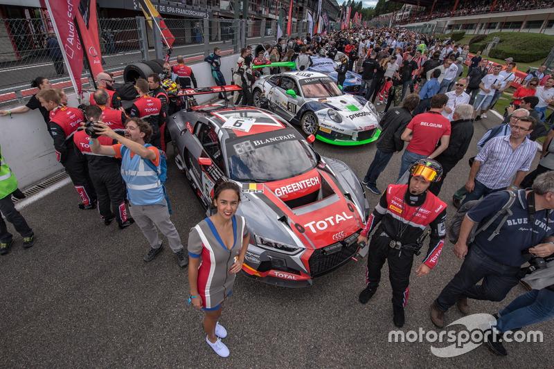 #6 Belgian Audi Club Team WRT Audi R8 LMS: Натанаель Бертон, Стефан Рішельмі, Бенуа Трелює