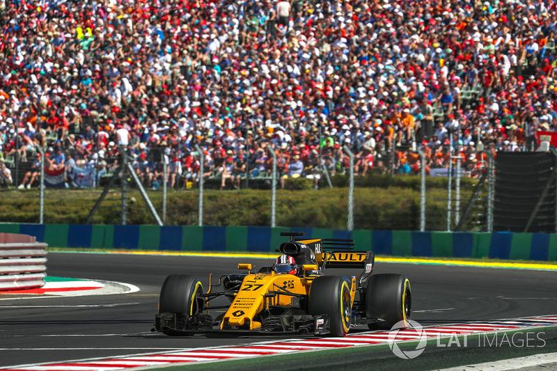 Сход. Нико Хюлькенберг, Renault Sport F1