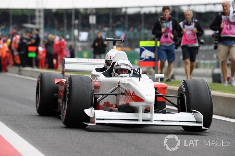 Johnny Herbert, F1-Doppelsitzer