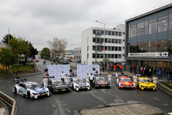 Maxime Martin, BMW Team RBM; Bruno Spengler, BMW Team RBM; Tom Blomqvist, BMW Team RBM; Marco Wittma