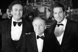 Alejandro Agag, Jean Todt und Marco Parroni