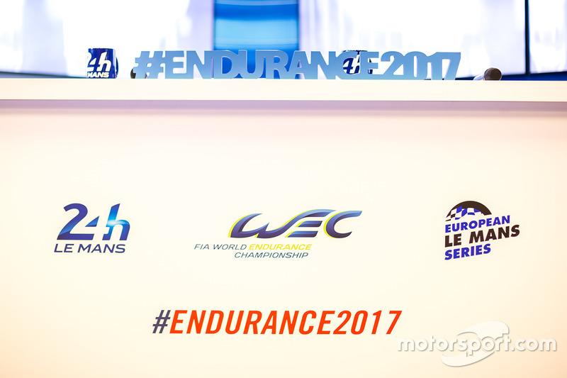 Logos de las 24 horas de Le Mans, World Endurance Championship, European Le Mans Series