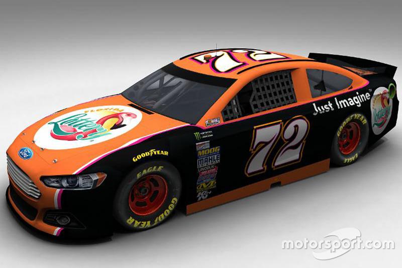 TriStar Motorsports Ford conducido por Cole Whitt