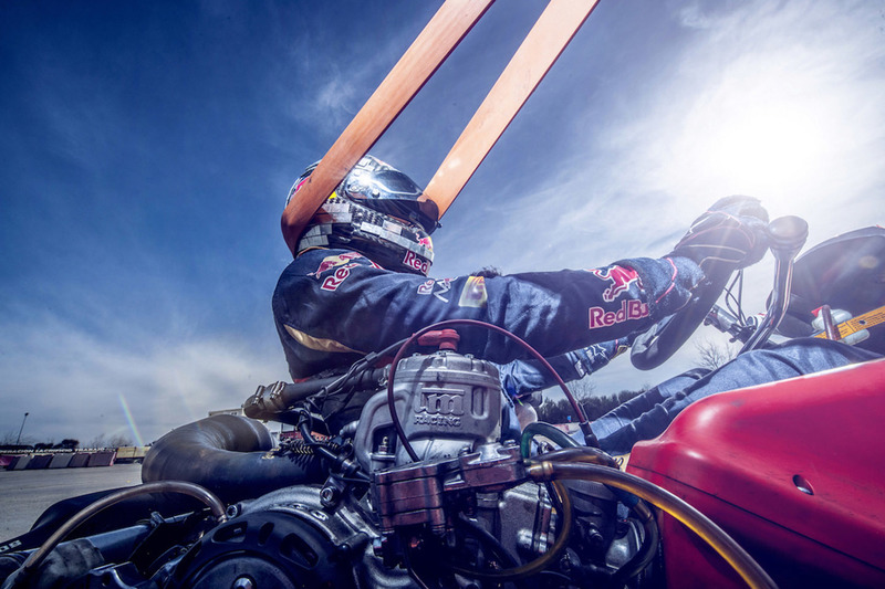 Carlos Sainz Jr., Scuderia Toro Rosso during training at the Karting Club Correcaminos in Recas