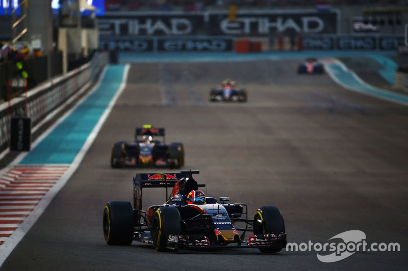 Abandon - Daniil Kvyat (Toro Rosso)
