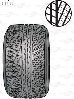 Rain tyre