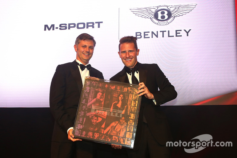 2016 Best Car Performance Award by Pirelli winner, Bentley Team M-Sport
