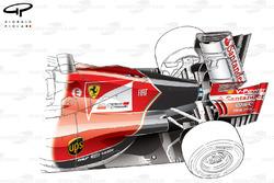 Ferrari F14 T rear end detail