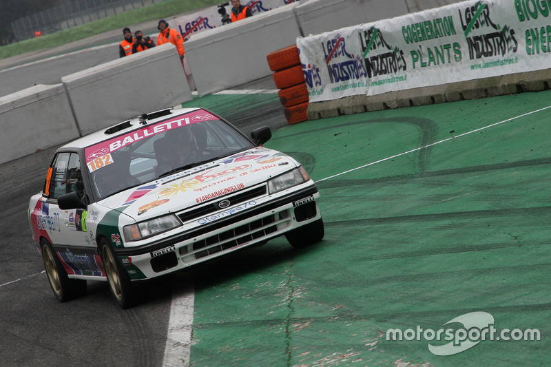 Salvatore Riolo, Alessandro Floris, Subaru Legacy
