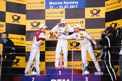 Podium: 1.Maro Engel, Mercedes-AMG Team HWA, Mercedes-AMG C63 DTM; 2. Mattias Ekström, Audi Sport Team Abt Sportsline, Audi A5 DTM; 3. Bruno Spengler, BMW Team RBM, BMW M4 DTM