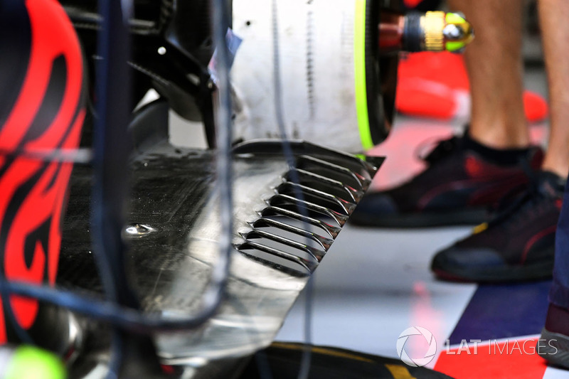 Red Bull RB13: Unterboden