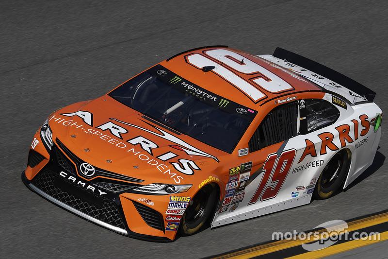 #19: Daniel Suarez, Joe Gibbs Racing, Toyota