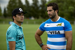 Nelson Piquet Jr., NEXTEV TCR Formula E Team with Juan Manuel Leguizamón, Rugby player