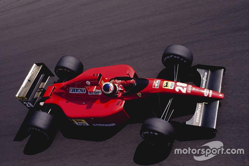 1991: Ferrari 643 (шесть подиумов, 3-е место в КК)
